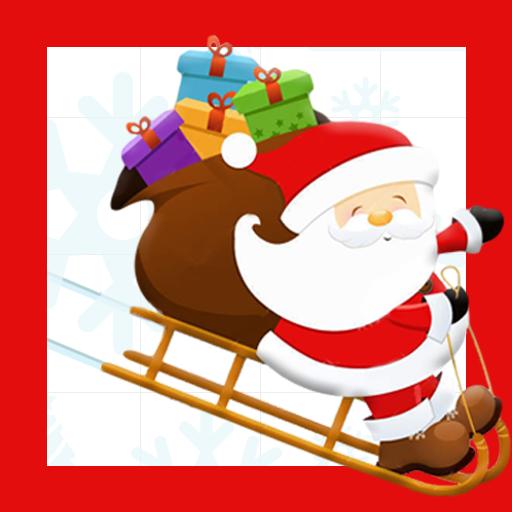 Sliding Santa