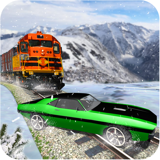 Train Vs Car: Speedy Race