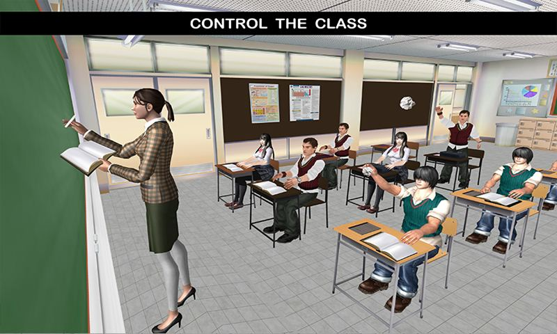 Virtual School Intelligent Teacher