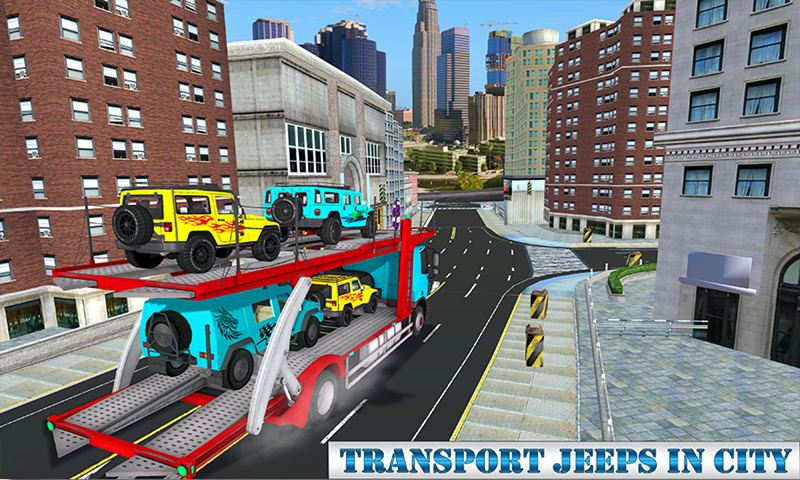 4x4 Offroad Racing: Transport Truck Driving