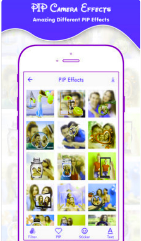 Blur Photo Background - Pip Camera Photo Editor