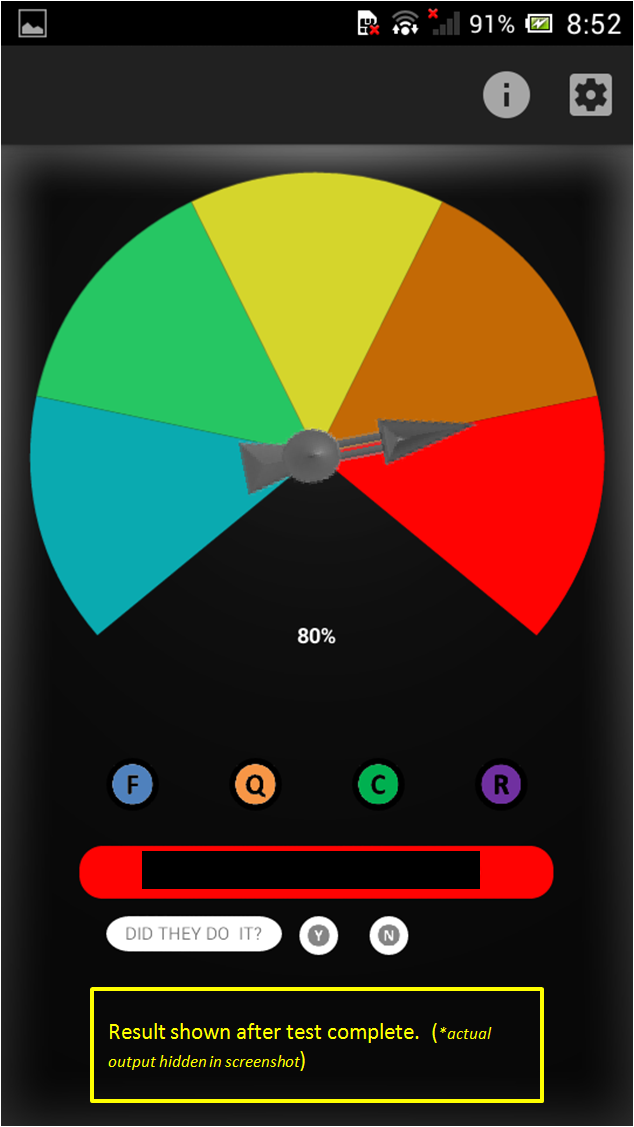 Cheat-O-Meter - Entertainment App