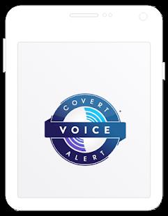 Covert Alert - Voice activated Safety Alert app