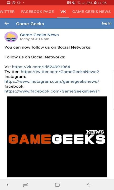 Game Geeks News