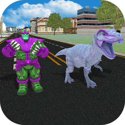 Infinity Dino Hero City Survival