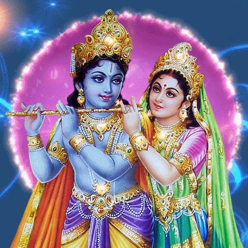 Krishna Radha Live Wallpaper