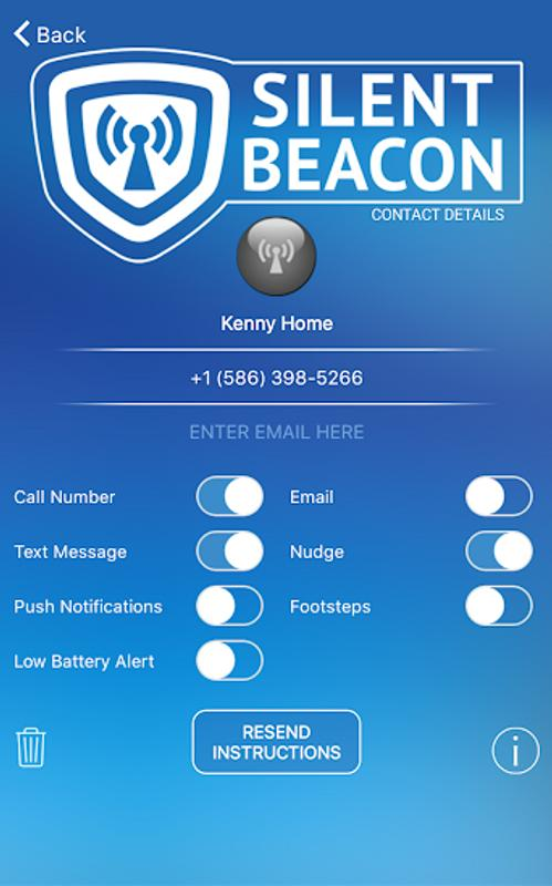 Silent Beacon Safety App