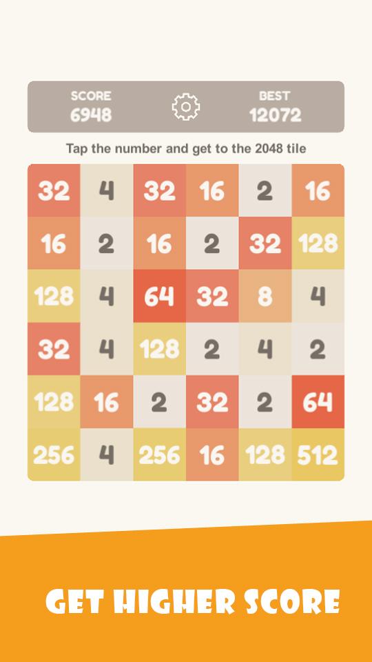Tap 2048 - worldwide poplar game