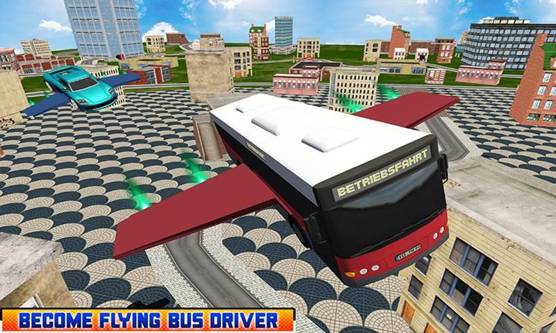 Ultimate Flying Car Driving Simulator