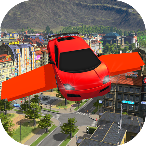 Ultimate Flying Car Driving Simulator