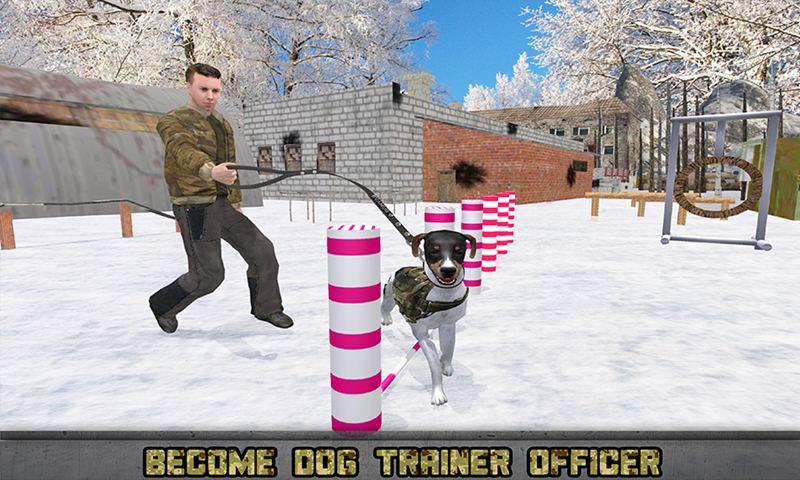US Army Dog Training Camp