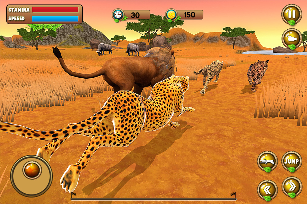 Wild Animal Racing Simulator 2019