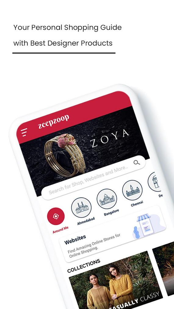 ZeepZoop - Best Shopping Guide App