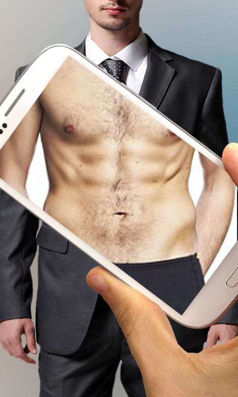 Body Scanner camera xray app Prank