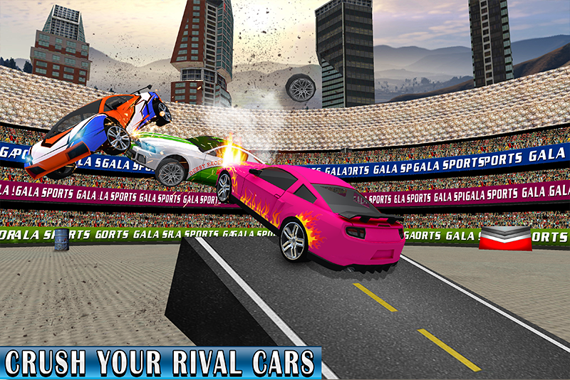 Demolition Derby Sports Car Racing