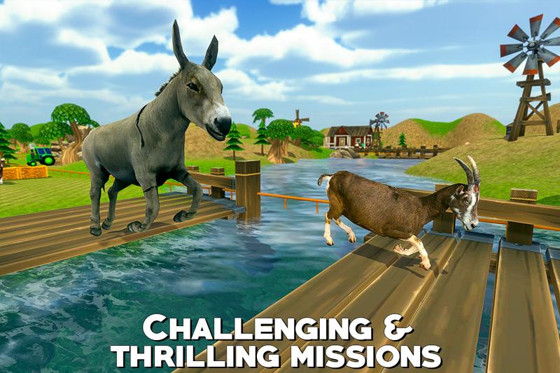 Farm Animal Racing 3D