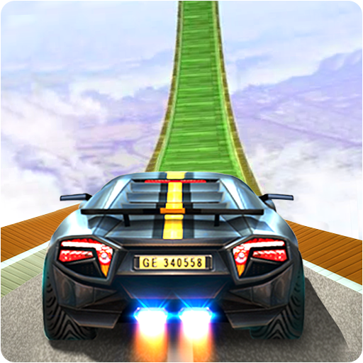 Impossible Stunt Space Car Racing 2019