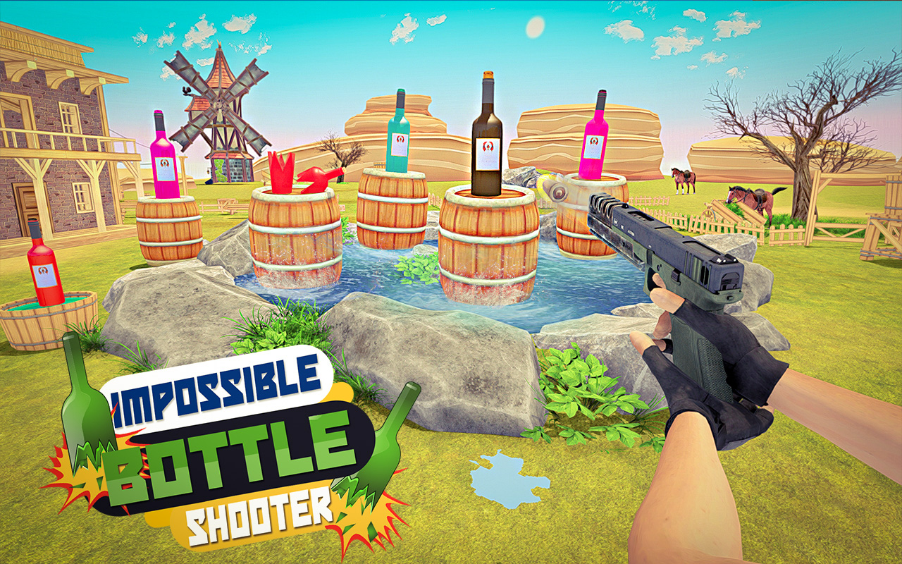 Real Master Bottle Shooter Expert