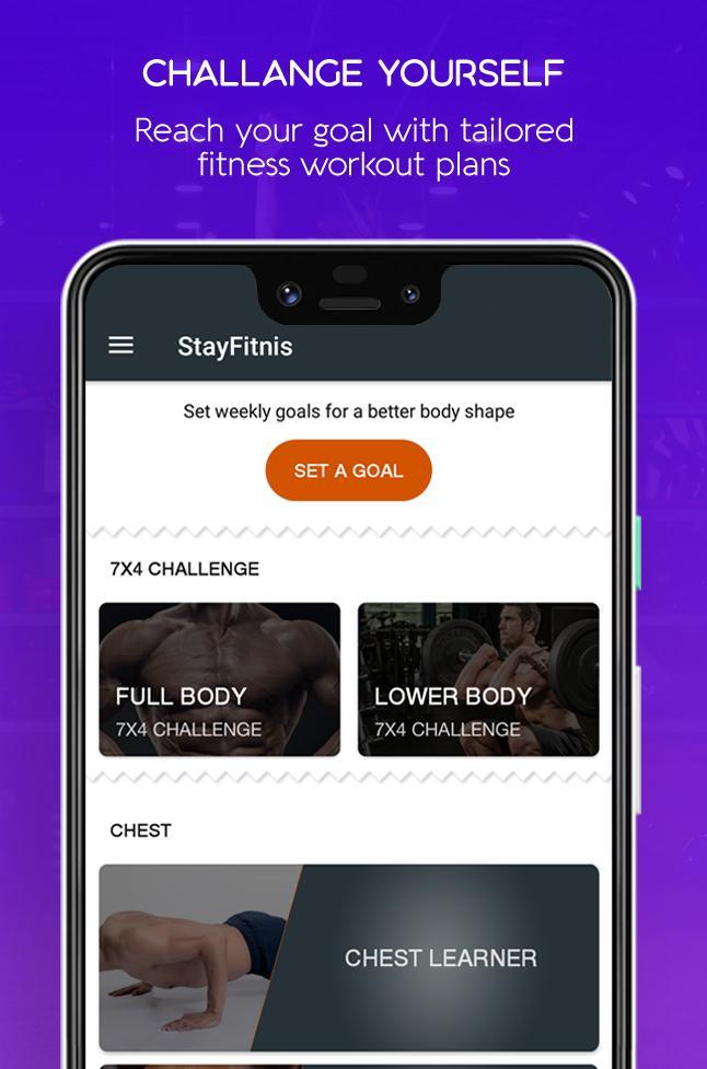 StayFitnis - Best Home Based Workout App