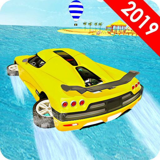 Water Surfer Car Racer - Water Games