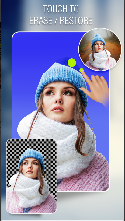 Background Eraser - Cut Paste Photos Editor