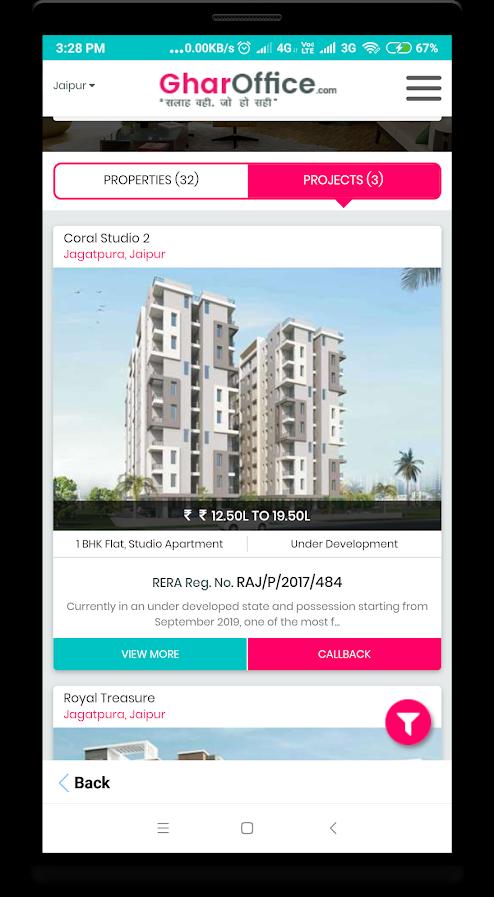 GharOffice - Buy/Sale/Rent Properties