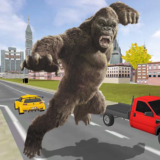 Gorilla Escape City Jail Survival
