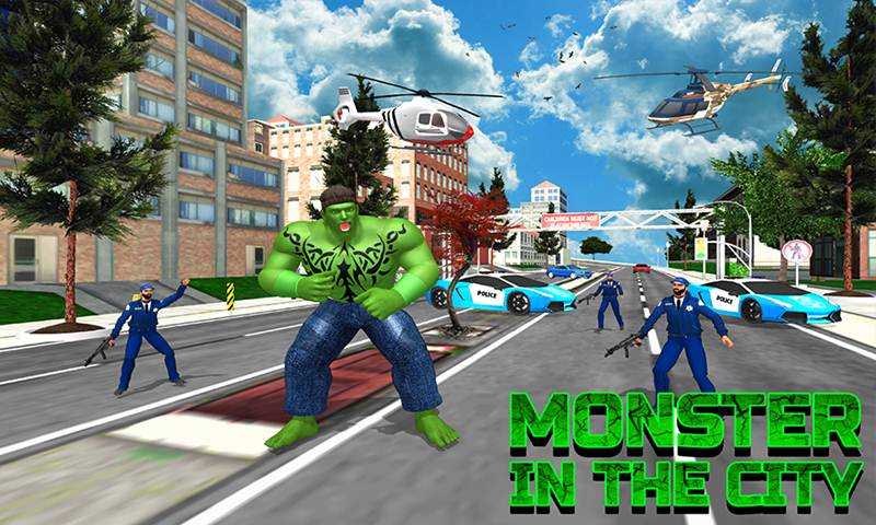 Incredible City Monster Hero Survival