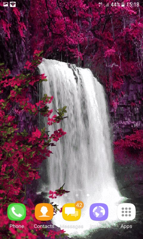 Red Spring Waterfall LWP