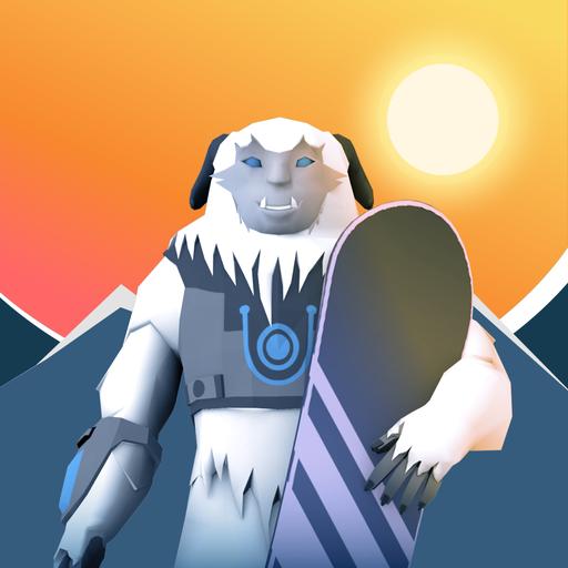 SnowRacer - Mountain Rush