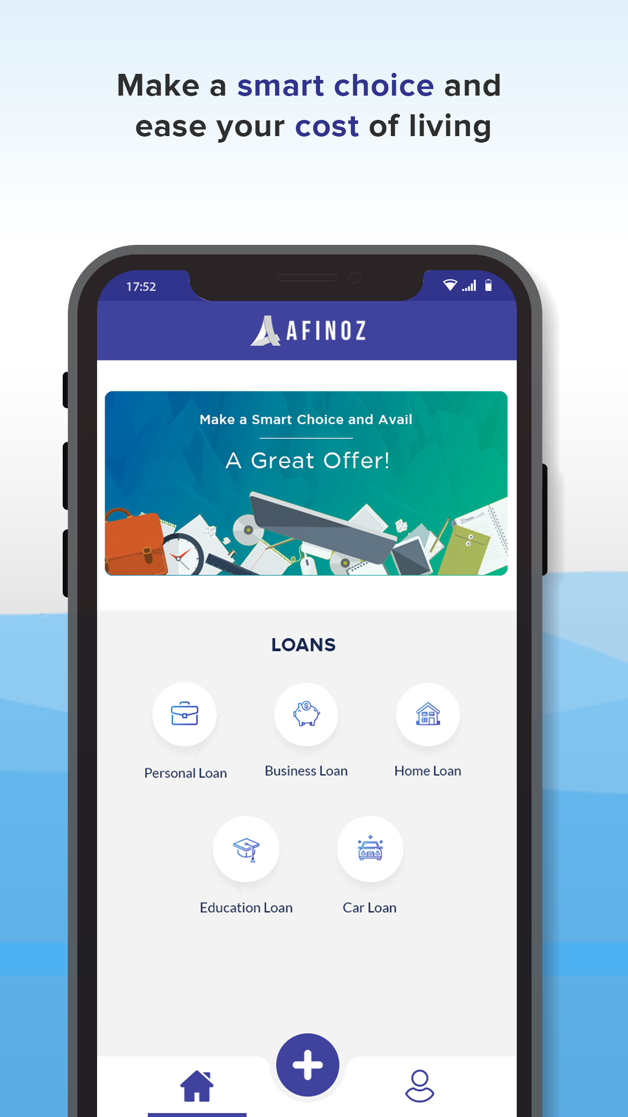Afinoz - Personal Loan, business Loan, Home Loan