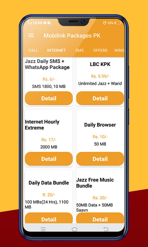 All Mobilink Jazz latest Packages Free 2019
