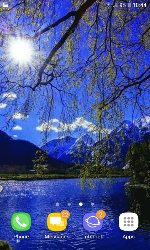 Blue Lake Evening LWP