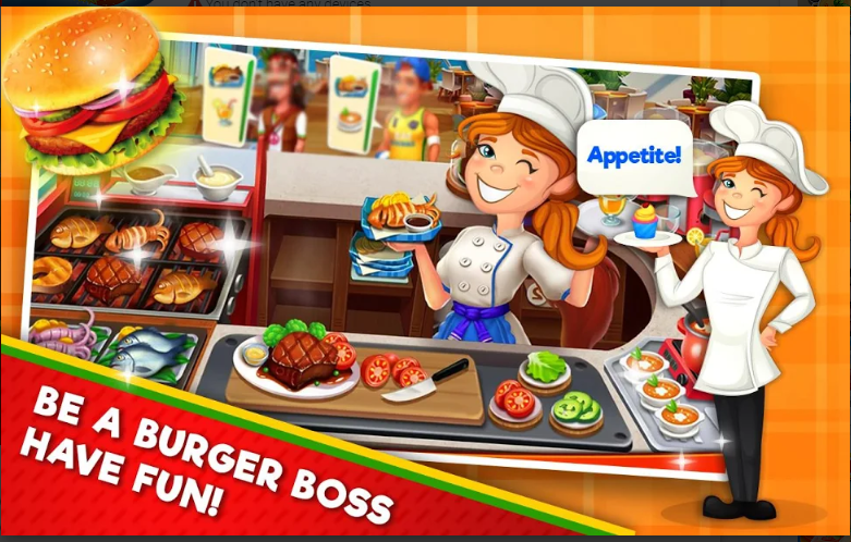 Burger Cooking Game