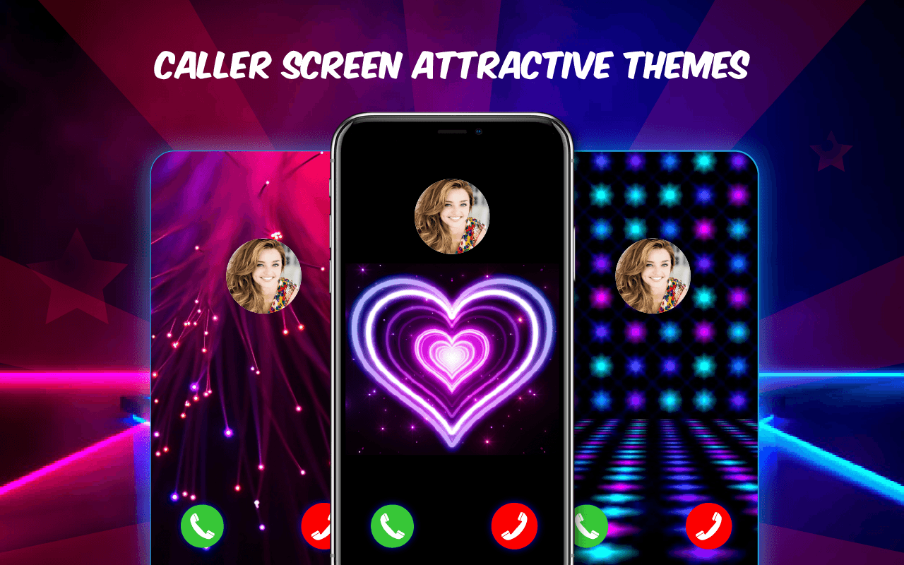 Caller Screen Stylish Themes – Color Phone Call