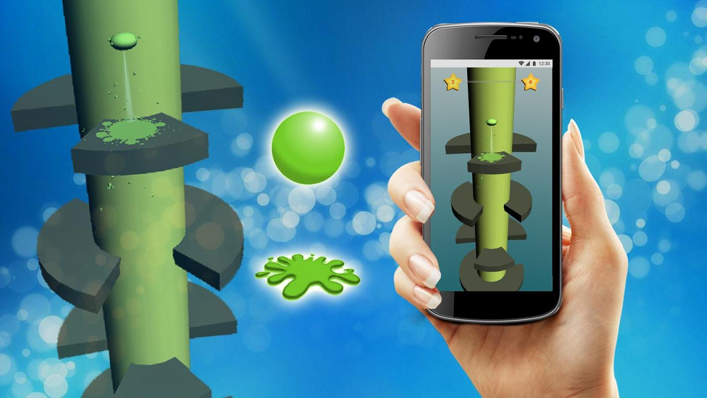 Helical Jump - New Helix Jump Game