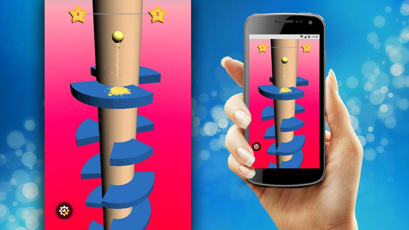 Helical Jump - New Helix Jump Game