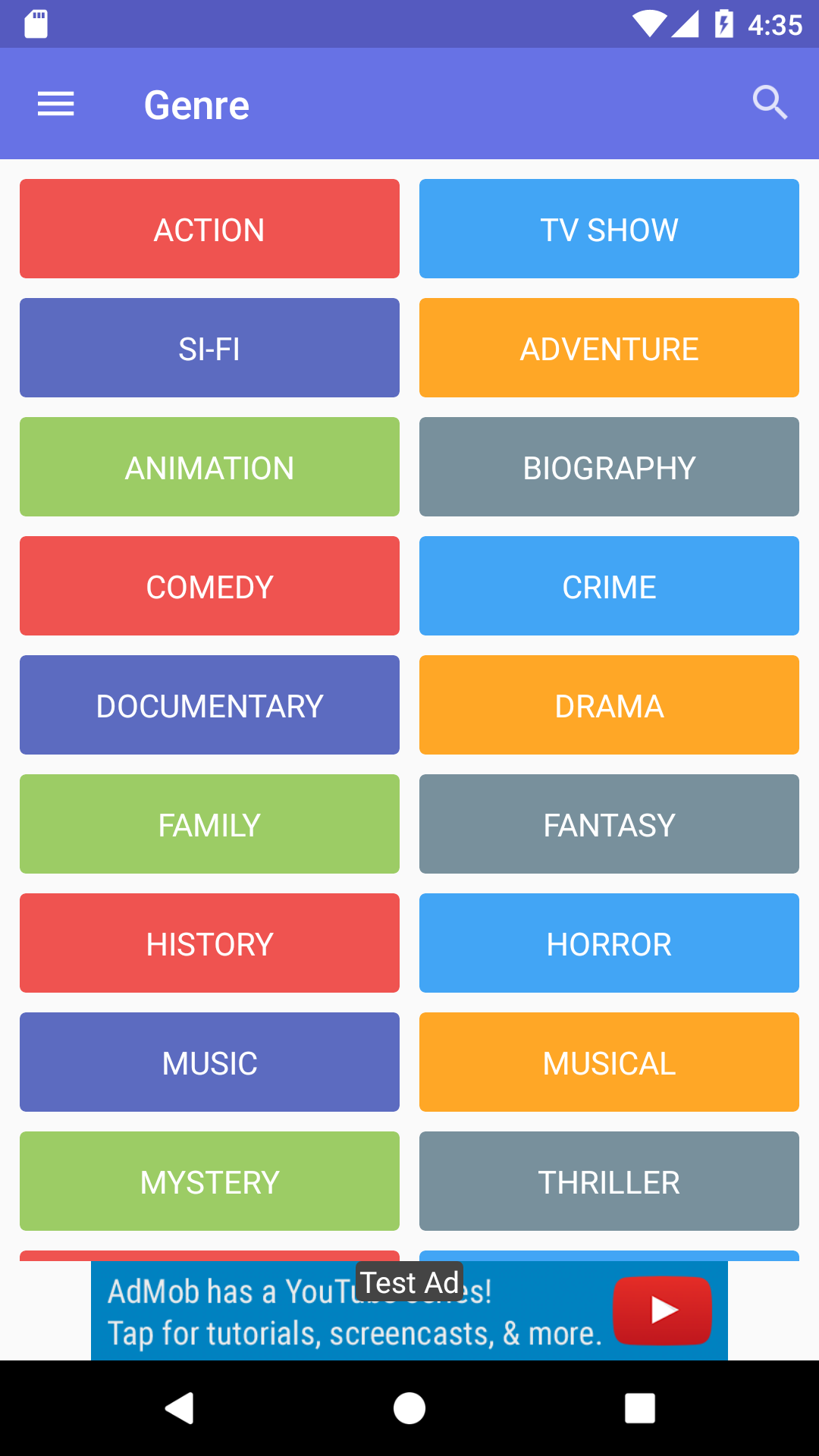 OXOO - Android Live TV & Movie Portal App