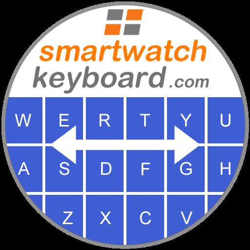 Smartwatch Keyboard for WEAR OS Smartwatches