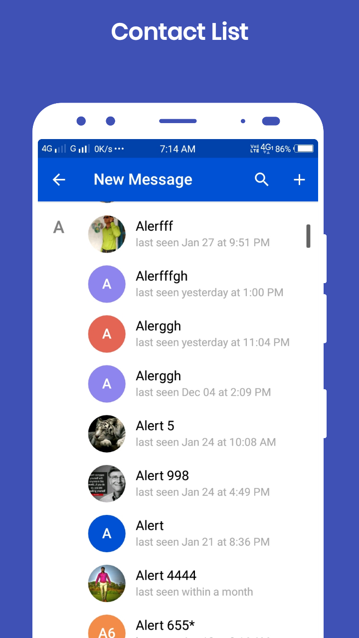 Vibrant Chat Messenger