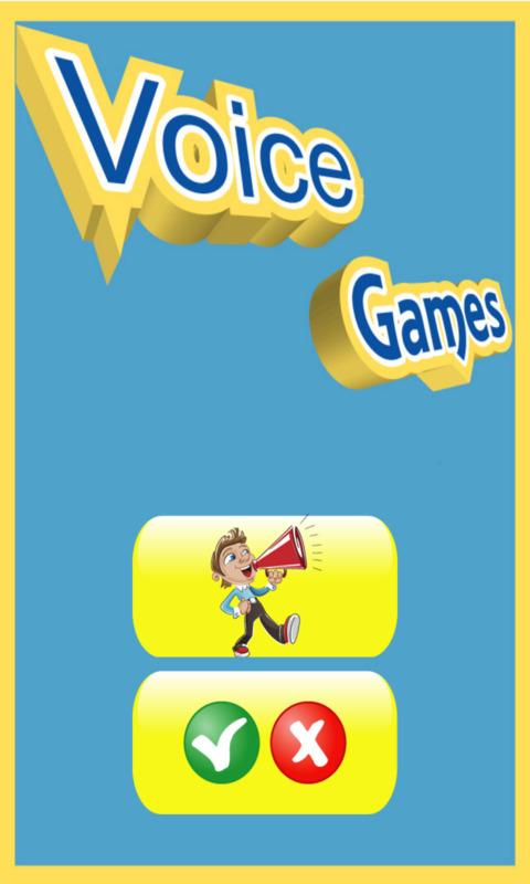 Voice games