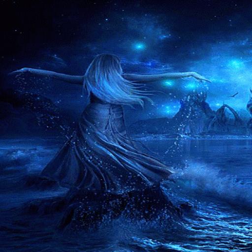 Blue Ocean Girl LWP