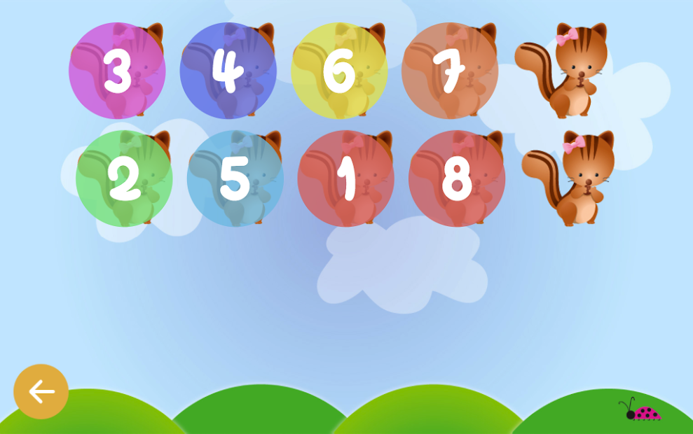 Counting for kids - Count with animals