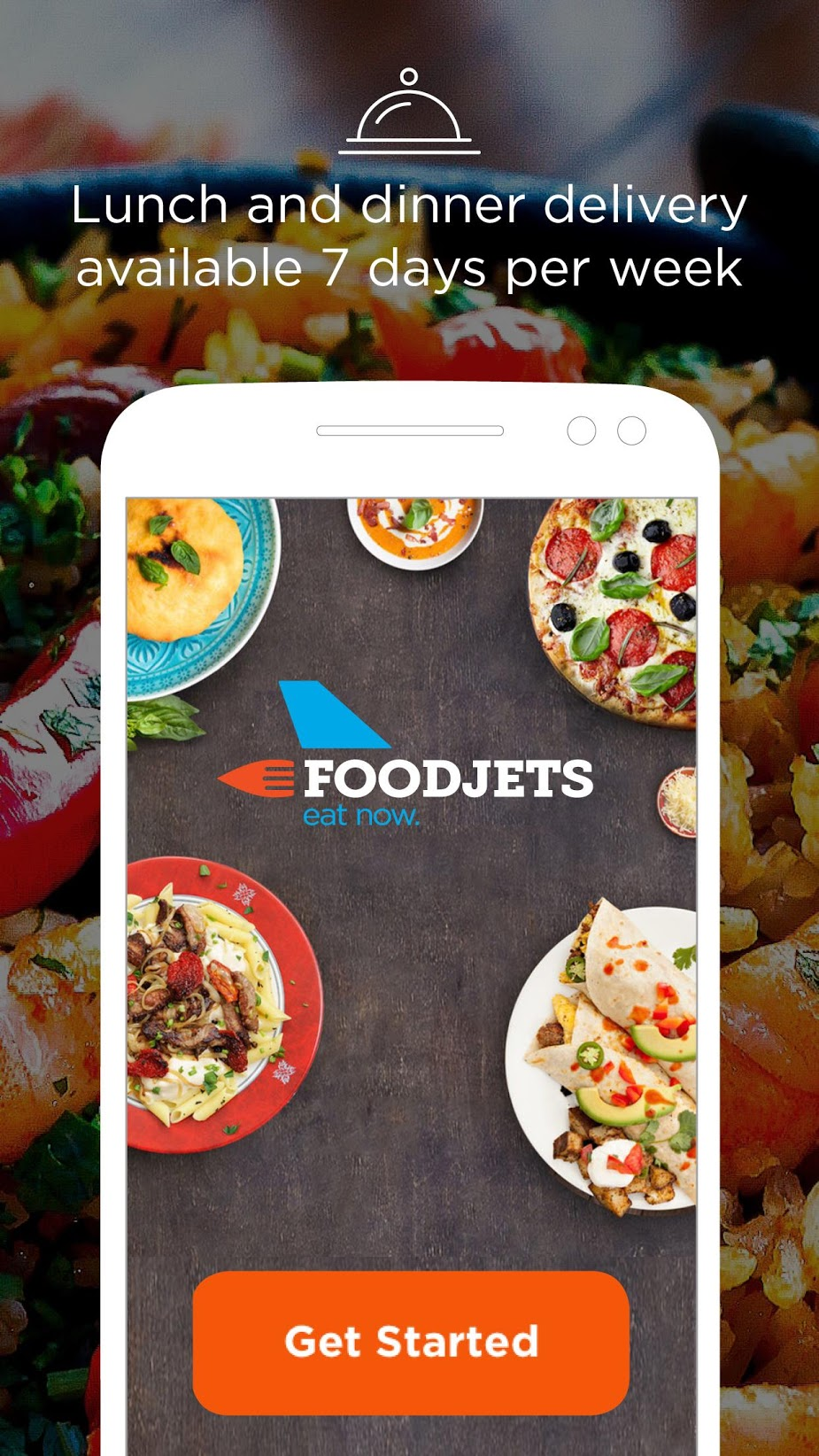 Food Delivery by FoodJets