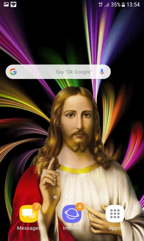 Jesus Bright Live Wallpaper