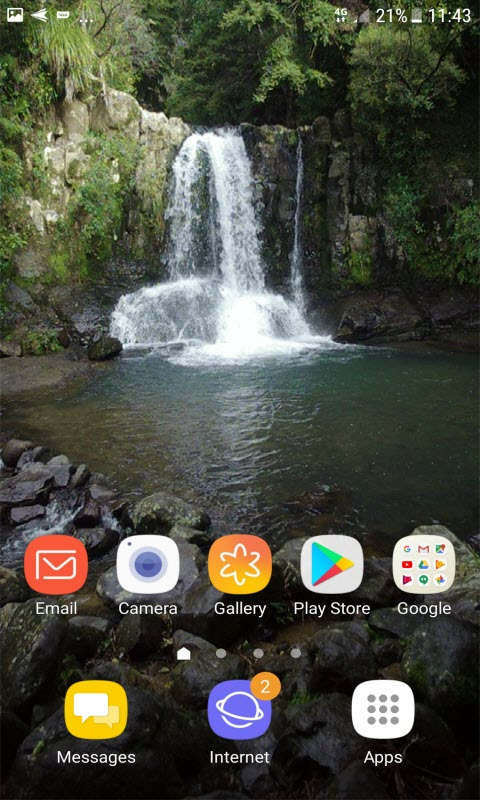 Mini Waterfall Live Wallpaper