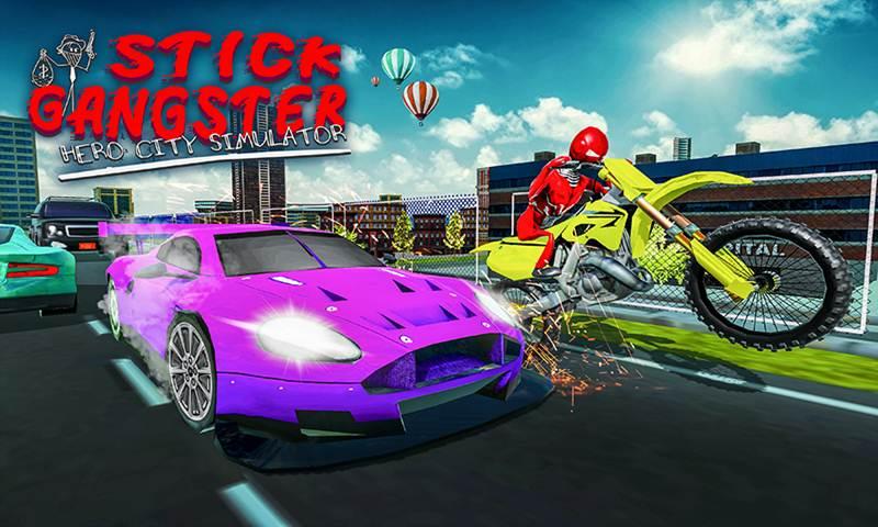 Stick Gangster Hero City Simulator
