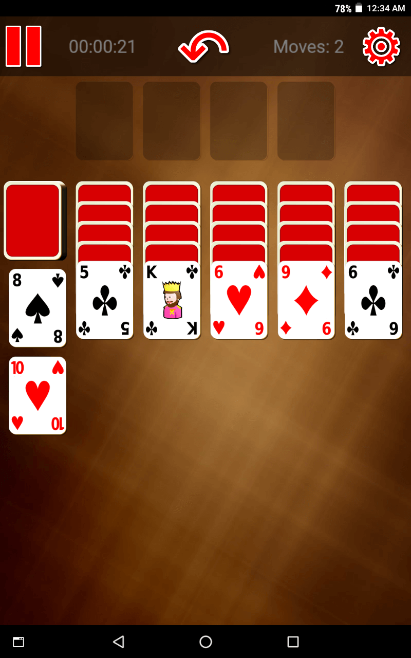 Switch Spider Solitaire