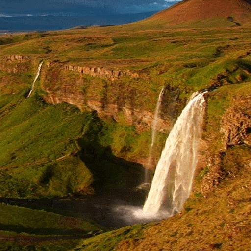 Waterfall Spot Live Wallpaper