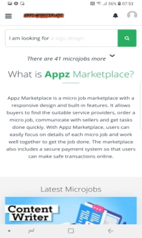 Appz Marketplace - Get the Job Done